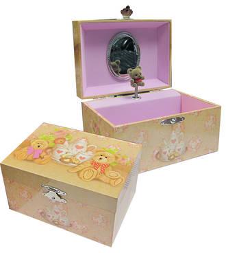 Musical Jewellery Box - Teddy Bear