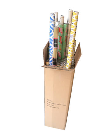 Wrapping Paper Display - 60pcs