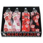 Kimono Memo Pads Display 48