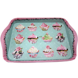 Cupcakes Melamine Tray