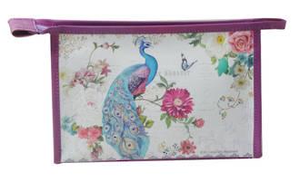 Cosmetic Bag - Peacock