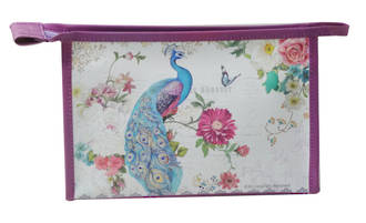 Cosmetic Bag - Peacock