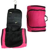Hanging Toilet Bag (Round) - Pink