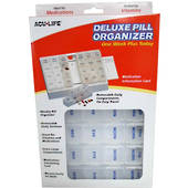 Acu-Life Deluxe Weekly Pill Organzier