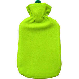 Hot Water Bottle 2L & Cover - Lime