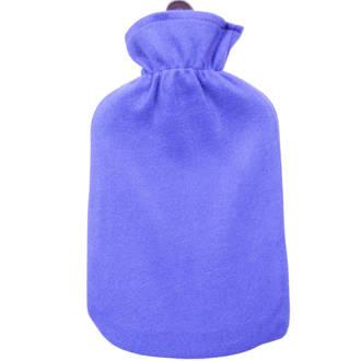 Hot Water Bottle 2L & Cover - Purple