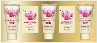 Orchid Blossom Gift Set