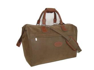 Travel Bag - Brown with Shoulder Strap