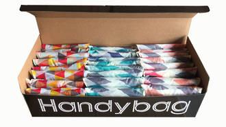 Handy Shopping Bag Display - 24pcs