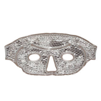 Gel Bead Face Mask - Grey
