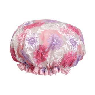 Shower Cap Pink Floral