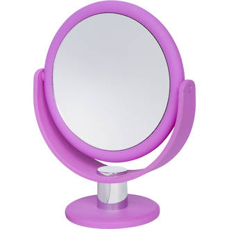 Soft Touch Vanity Mirror Orchid