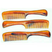 Comb Tortoise Shell - Wet Hair 7.5""