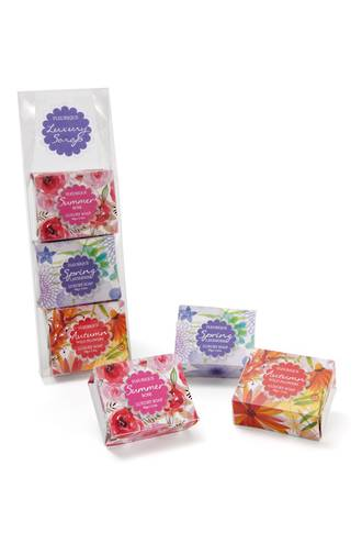Fleurique Trio Soap Pack 3x90g