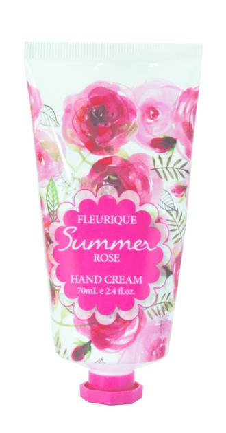 Fleurique Hand Cream 70ml - Summer Rose