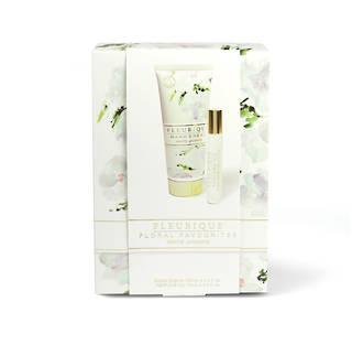 Fleurique Hand Cream & Perfume Oil Gift Set - White Jasmine