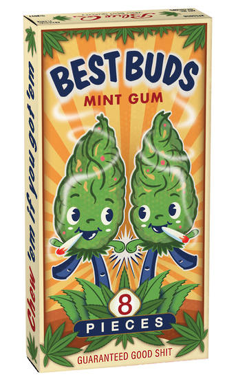 Chewing Gum (20pcs) - Best Buds