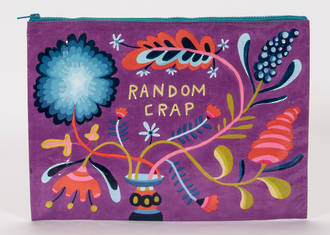 Jumbo Zipper Pouch - Random Crap