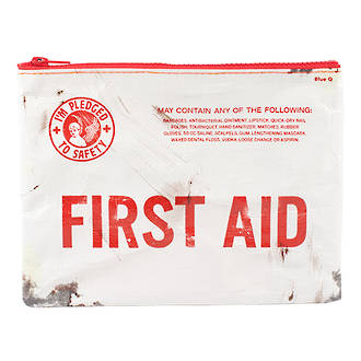 Zipper Pouch - First Aid