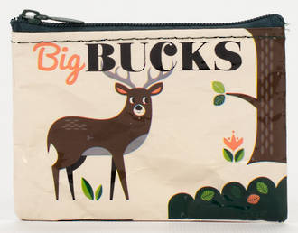 Blue Q Coin Purse - Big Bucks