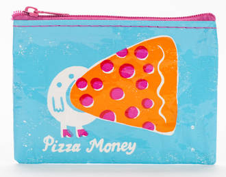 Blue Q Coin Purse - Pizza Money