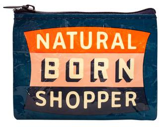 Blue Q Coin Purse -  Natural Born Shopper