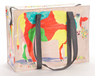 Shoulder Tote Bag - Cow