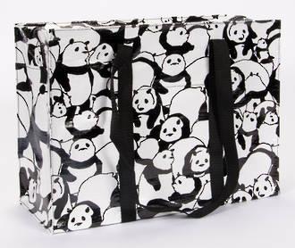 Shoulder Tote Bag - Panda
