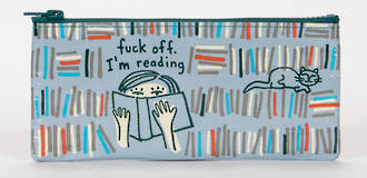 Pencil Case - Fuck Off I'm Reading