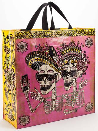 Blue Q Shopper - Day Of The Dead