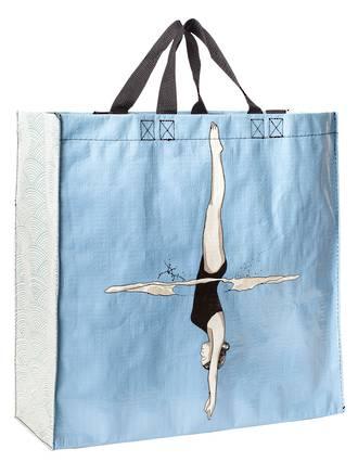 Blue Q Shopper - Diver