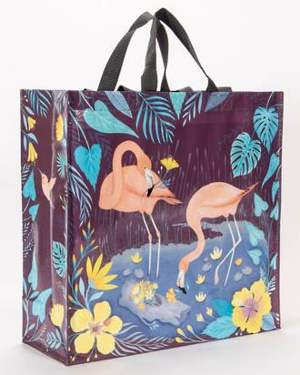 Blue Q Shopper - Flamingo