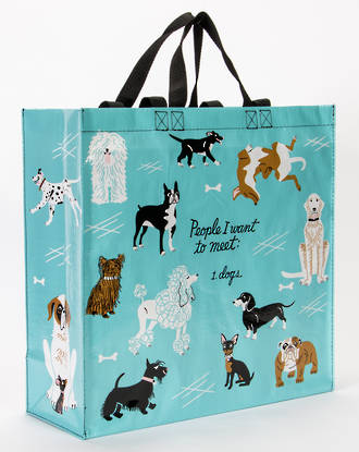 Blue Q Shopper - People To Meet: Dogs