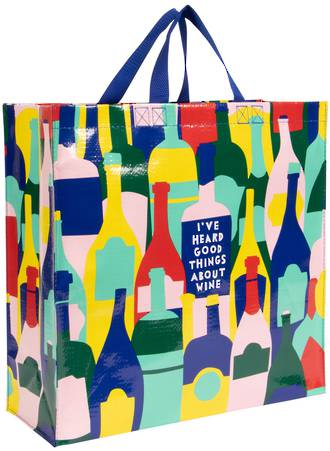Blue Q Shopper - Good Things About Wine