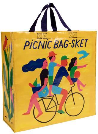 Blue Q Shopper - Picnic Bag-Sket