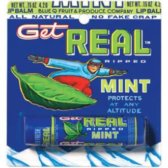 Get Real Lip Balm - Mint