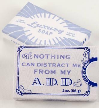 Blue Q Soap - A.D.D.