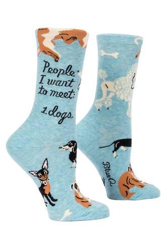 Blue Q Socks - People to Meet: Dogs