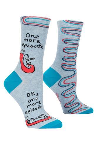 Blue Q Socks - One More Episode