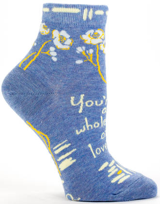 Blue Q Ankle Socks - Whole Lot Of Lovely