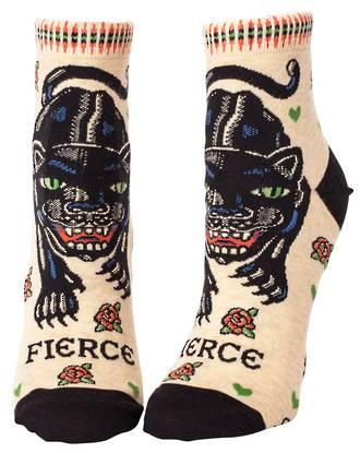 Blue Q Ankle Socks - Fierce