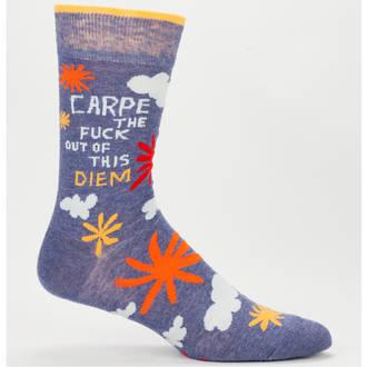 Blue Q Men's Socks - Carpe Diem
