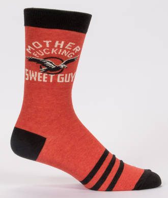 Blue Q Men's Socks - Mother Fuckin Sweet Guy