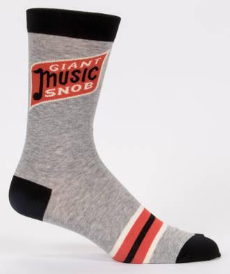 Blue Q Men's Socks - Giant Music Snob