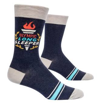 Blue Q Men's Socks - Olympic Long Sleeper