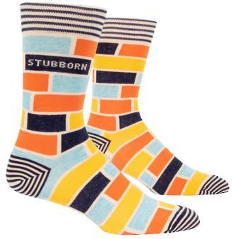 Blue Q Men's Socks - Stubborn