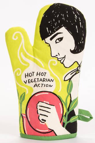 Oven Mitt - Hot, Hot Vegetarian