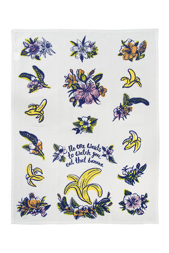 Blue Q Dish Towels - Eat That Banana