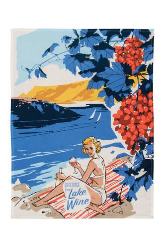 Blue Q Dish Towels - Lake Wine