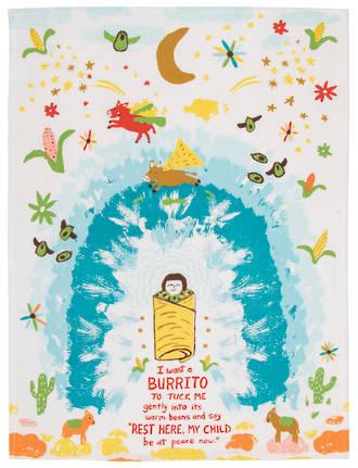 Blue Q Dish Towels - I Want A Burrito
